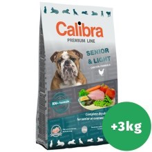 Calibra Dog Premium Line Senior & Light 12 kg