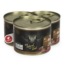 Farm Fresh Cat Pure Beef & Liver 200 g