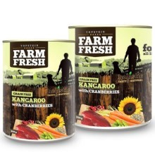 Farm Fresh konzerva Kangaroo & Cranberries 400 g