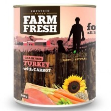 Farm Fresh konzerva Turkey & Carrot 800 g