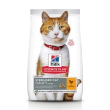 Hill's Feline Young Adult Sterilised Cat Chicken 3 kg