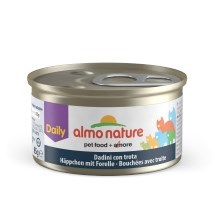 Konzerva Almo Nature Daily Menu kúsky so pstruhom 85 g