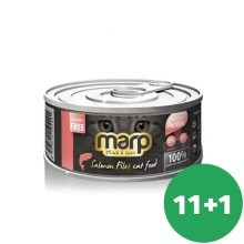 Marp Cat konzerva Salmon Filet 12x 70g (11+1 ZADARMO)