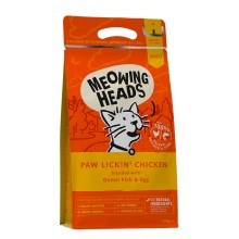 Meowing Heads Paw Lickin' Chicken 450 g