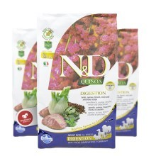 N&D GF Quinoa Dog Digestion Lamb & Fennel 2,5 kg