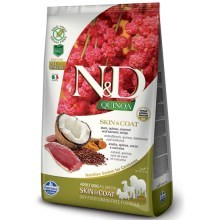N&D GF Quinoa Dog Skin & Coat Duck & Coconut 2,5 kg