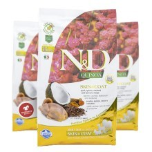 N&D GF Quinoa Dog Skin & Coat Quail & Coconut 2,5 kg