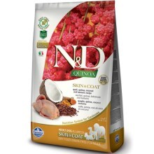 N&D GF Quinoa Dog Skin & Coat Quail & Coconut 7 kg