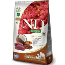 N&D GF Quinoa Dog Skin & Coat Venison & Coconut 2,5 kg
