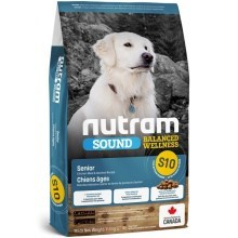 Nutram S10 Sound Senior Dog 11,4 kg