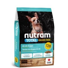 Nutram T28 Total Grain Free Small Breed Salmon, Trout Dog 2 kg