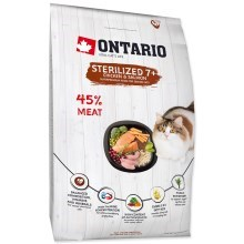 Ontario Cat Sterilised (7+) 2 kg