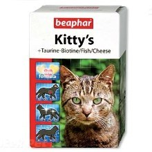 Pochúťka Beaphar Kittys Mix (180 tabliet)