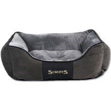 Scruffs Chester Box Bed S 50x40cm sivý