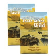 Taste of the Wild High Prairie Canine SET 2x 12,2 kg
